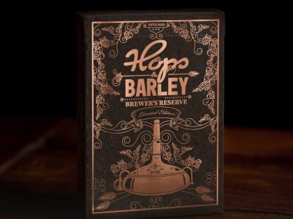 Hops and Barley Playing Cards